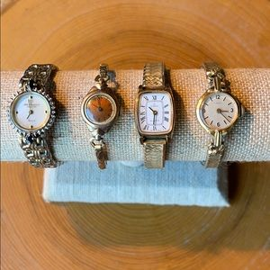 Four Vintage Non Working Watches